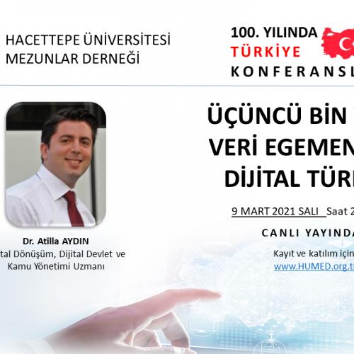 HÜMED – Üçüncü Bin Yılda Veri Egemenliği Konferansı